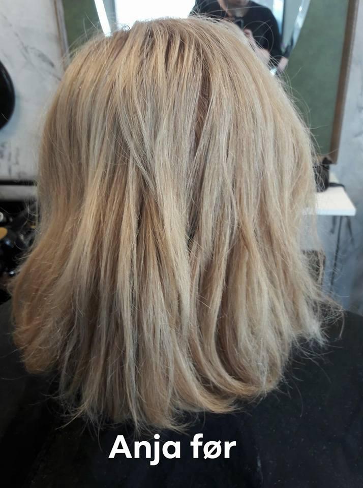 før og efter billeder frisure
